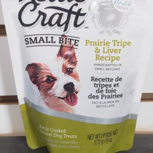 Kettle Craft Small Bites Prairie Tripe and Liver Recipe