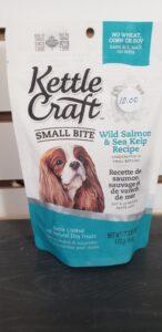 Kettle Craft small bite dog treats salmon