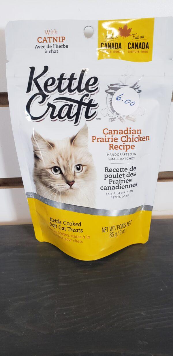 Kettle Craft cat treats Canadian Prairie Chicken