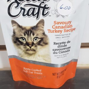 Kettle Craft Cat Treats Savory Canadian Turkey
