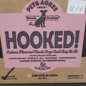 Pets Agree Hooked Salmon Biscuits, small bars