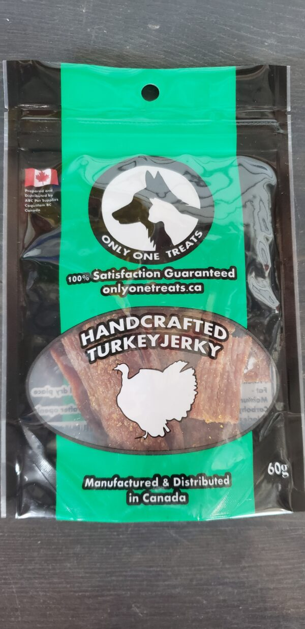 One Only Hand Crafted Turkey Jerky