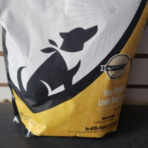 Free Range Lamb 5lb Dog Food