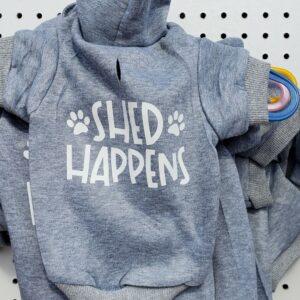 Hoodie, Shed Happens