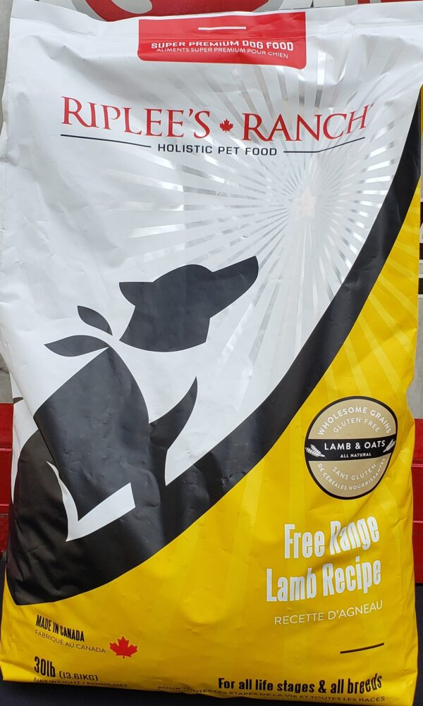 Free-Range Lamb Dog Food 30 lb