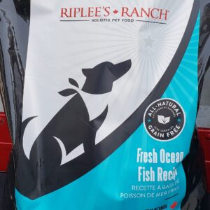 Wild fish grain-free dog food