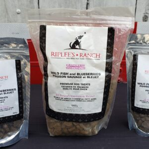 Wild Fish and Blueberry, Grain Free Treats
