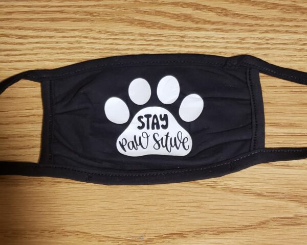 Mask, Stay Pawsitive