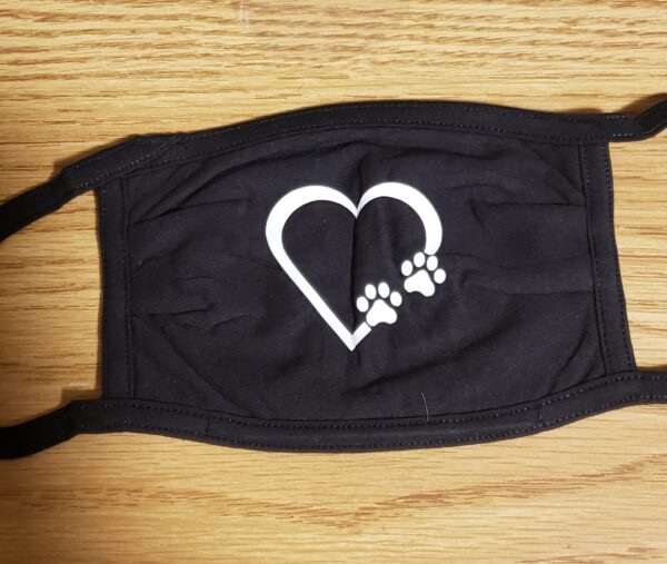 Mask, Heart and Paws