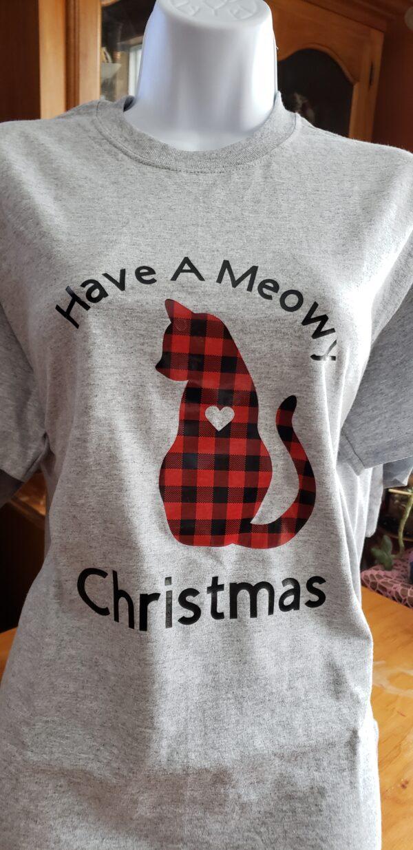 Meowy Christmas Adult