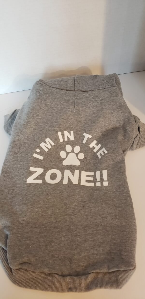 I am in the Zone, grey