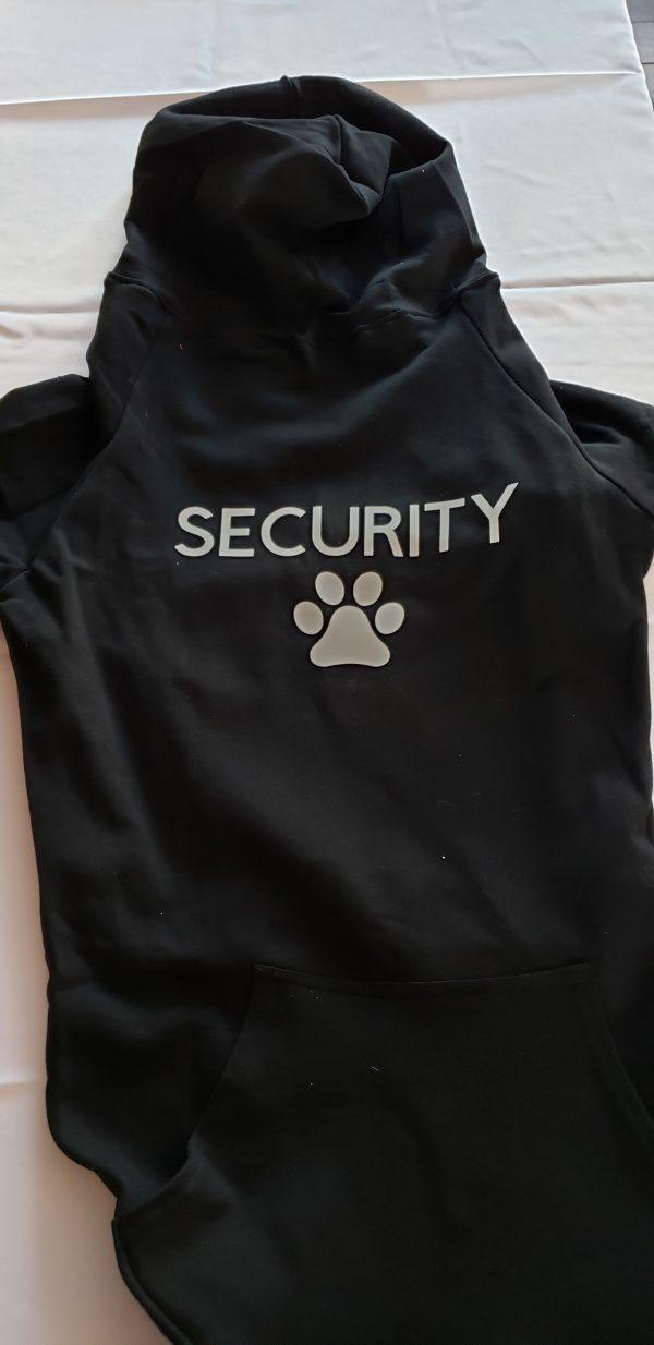 Black Security hoodie