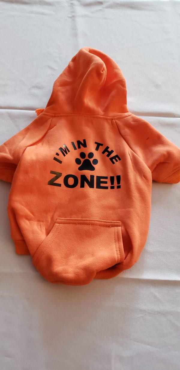 I am in the Zone, orange