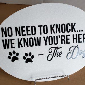 No need to knock