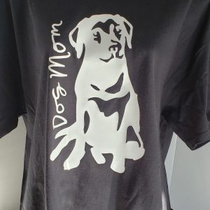Dog Mom T-shirt4